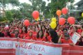Demo Mahasiswa Cimsa UNAIR Anti Diskriminasi Odha