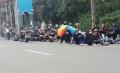 Demo Tolak PPKM di Kantor Walikota Tangerang