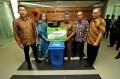Dinas Kebersihan dan Pertamanan Pemko Medan Terima Sumbangan