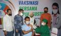 Direktur Pelayanan BPJamsostek Tinjau Vaksin BPJS