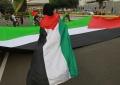 Dukung Palestina, Mahasiswa Demo Di Kedubes AS