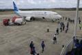 Garuda Indonesia Mendarat Perdana di Bandara APT Pranoto