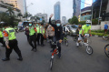 Gowes For Democracy Save Myanmar di Jakarta