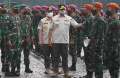 Gubernur DKI Pimpin Upacara Gabungan TNI-Polri di Monas