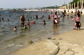 Hari Pertama Idul Fitri 1442 H, Pantai Ancol Ramai Pengunjung