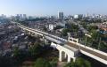 Jalur Layang (Elevated Track) Bogor Line mulai Beroprasi