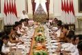 Jokowi Pimpin Sidang Kabinet Paripurna Perdana