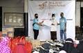 Jurnalis Kayuh Indonesia dan Jurnalis MTB Berbagi Sembako
