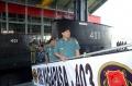 Kapal Selam KRI Nagapasa Tiba di Surabaya