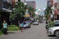 Kawasan Pasar Baru Jakarta Sepi Pembeli