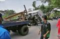 Kecelakaan Truk Tangki Air Di Sigarbencah Semarang