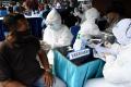 Koarmada II Gelar Serbuan Vaksinasi Covid-19 Masyarakat Maritim