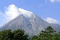 Kondisi Terkini Gunung Merapi Dilihat dari Kawasan Kalitengah Lor Sleman