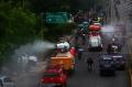 Kota Cimahi di Semprot Disinfektan