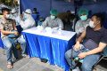 KSAL dan Gubernur Jatim Tinjau Program Vaksinasi Covid-19