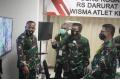 Kunjungan Pangkogabwilhan I ke RSD Wisma Atlet Kemayoran