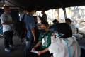 Lantamal V Gelar Serbuan Vaksinasi Covid-19 Pekerja Maritim