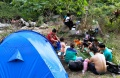 Libur Lebaran, Wisata ke Sungai Cigeureuh Gunung Puntang