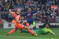 Lionel Messi Quattrick, FC Barcelona Hempaskan Eibar 5-0