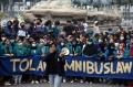 Mahasiswa Kembali Unjuk Rasa Tolak Omnibus Law UU Cipta Kerja