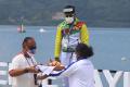 Maizir Riyondra Sumbang Emas Untuk Riau di Cabor Dayung Kayak