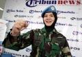Mantan Chief U9 Cimic UNAMID Letkol Revila Oulina Piliang