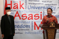 Mantan Pimpinan KPK Beri Keterangan di Komnas HAM