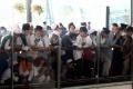 Massa FPI Penuhi Bandara Soetta Sambut Kedatangan Habib Rizieq Shihab