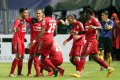 Mitra Kukar FC Kalahkan Semen Padang FC