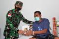 Pangdam XVII/Cenderawasih Menjenguk Nakes di RS Marthen Indey