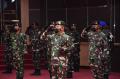 Panglima TNI Terima Laporan Korps Kenaikan Pangkat 30 Perwira Ti