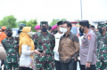 Panglima TNI Tinjau Instalasi Terpusat OTG dan Kelurahan Rorotan di Cilincing