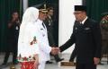 Pelantikan Pejabat Bupati Cirebon di Gedung Sate