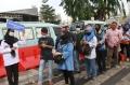 Pelayanan Bus Gratis TransJakarta Bagi Penumpang KRL