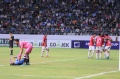 Pemain Bali United Berselebrasi