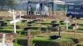 Pemakaman Jenazah dengan Protokol Covid-19 di TPU Tegal Alur