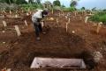 Pemakaman Korban Covid-19 di TPU Cikadut Kota Bandung
