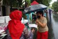 Pembagian Takjil Gratis di Cempaka Putih Jakarta Timur