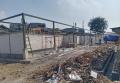 Pembangunan Tempat Penampungan Sementara Pasar Kebun Melati