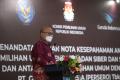Penandatanganan MoU KPU dengan BSSN dan Garuda Indonesia