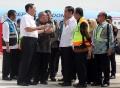 Pendaratan Perdana Pesawat Kepresidenan di BIJB Kertajati