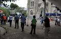Pengamanan Kamis Putih di Gereja Katedral Jakarta