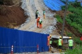 Pengeboran Gunung Bohong untuk Terowongan Kereta Cepat Jakarta-Bandung