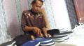 Pengrajin Sandal Jepit Dari Limbah Spon Karet Tangerang