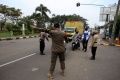 Penyekatan Pemudik di Cirebon Jawa Barat