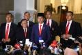 Pernyataan Pers Presiden Jokowi Pasca Pelantikan