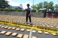 Polisi Ungkap Penyelundupan 1,3 Ton Ganja