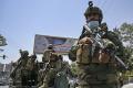 Potret Pejuang Taliban Di Kota Kabul