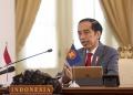 Presiden Joko Widodo Menghadiri KTT ASEAN Secara Virtual