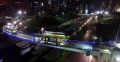 Proyek Simpang Susun Semanggi dari Udara (Foto Drone)